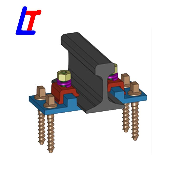 KPO Fastening System for ALPART railway constrction