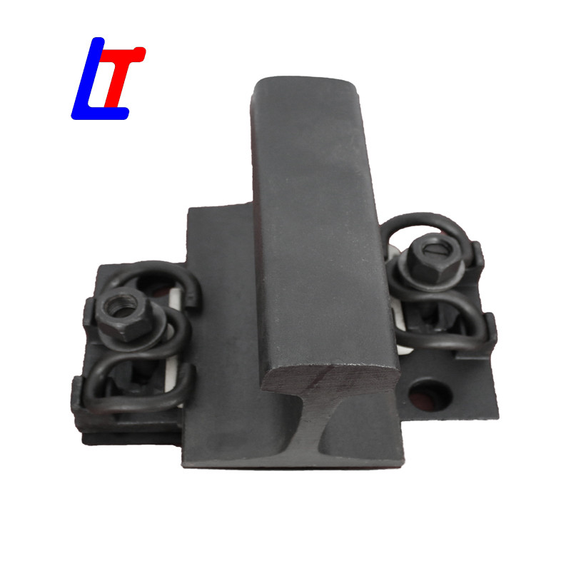 High speed WJ-8 rail fastening system
