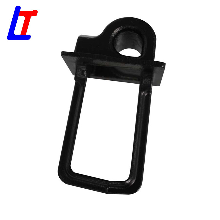 Rail shoulder rail fastener