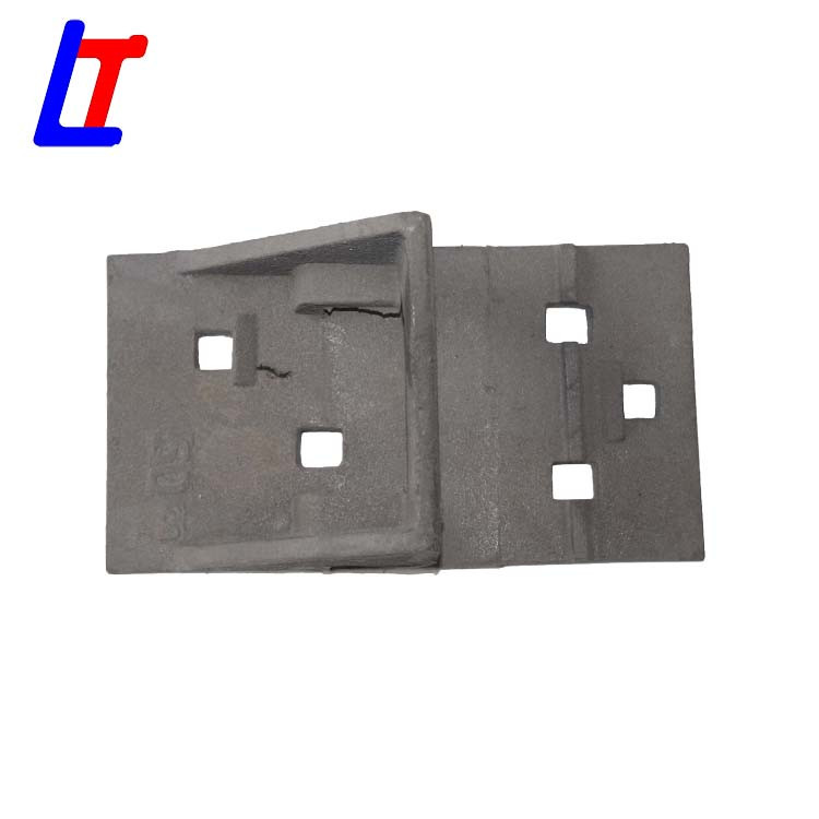 Rail shoulder tie plate